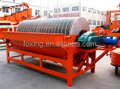 Iron ore dressing magnetic separator for sale factory supply magnetic cobber