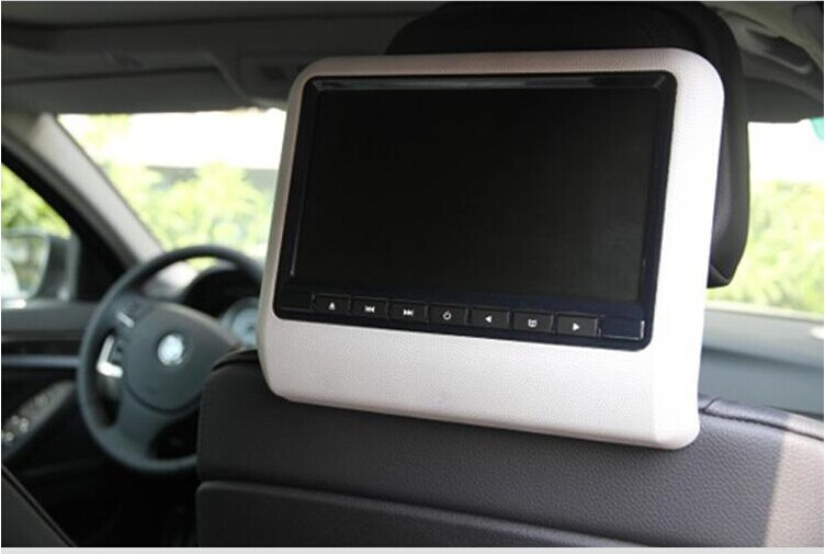 9''/ 7'' tft lcd monitor headrest dvd TV monitor player for car