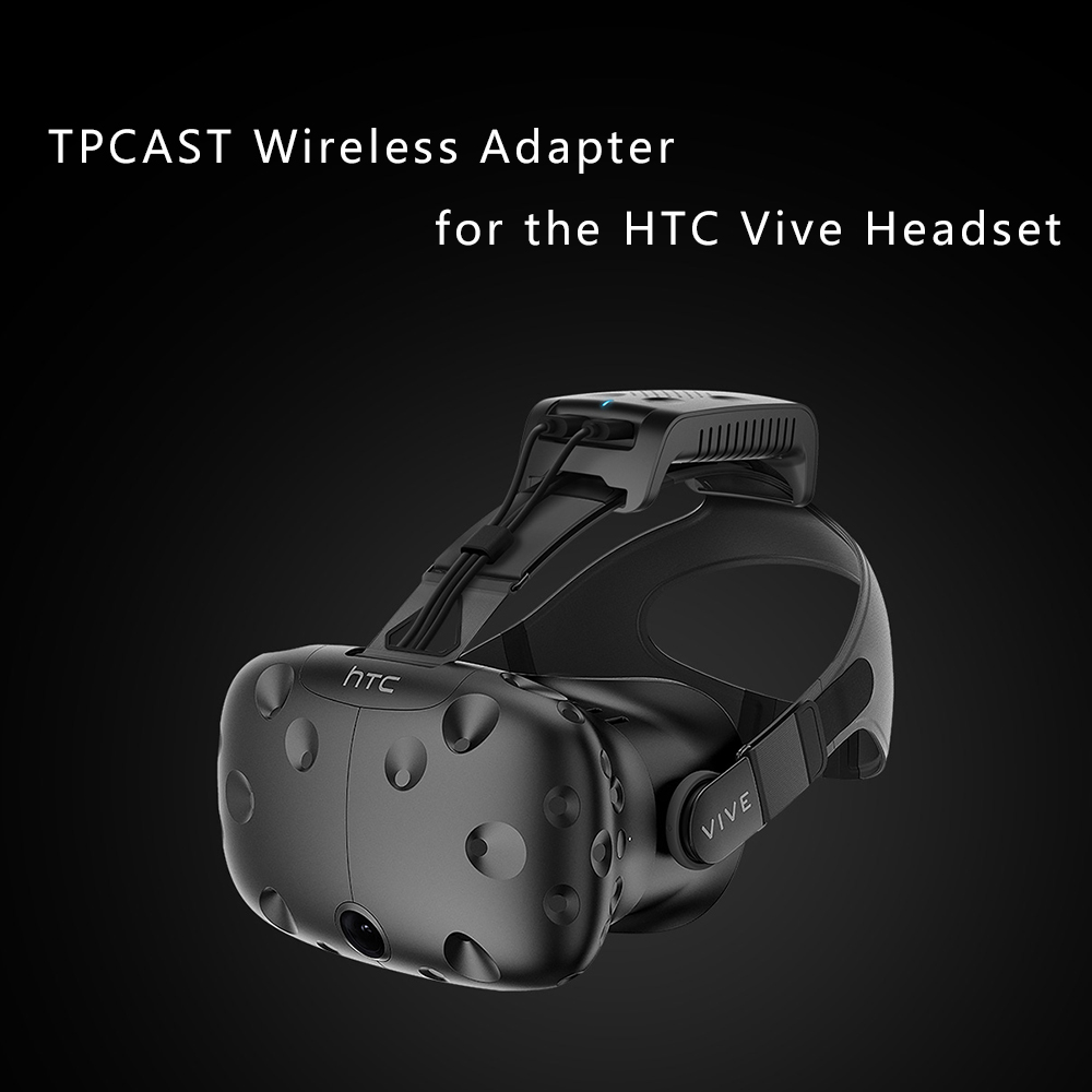 2017 Newest VR Products TPCAST Wireless Adapter for the HTC Vive Headset