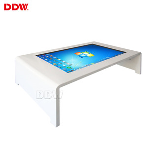 Popular products 32 inch electronic advertising display multiple functions flexible coffee table with touch screen