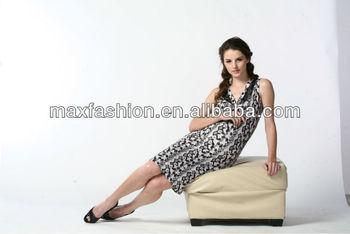 79ee55f5de10d Ucuz fiyat zarif şekil siyah elbise beyaz Lekeli, rahat puantiyeli yazlık  elbise, kızlar kırmızı