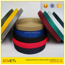 25mm 50mm 100mm Colorful Polyester Flat Webbing