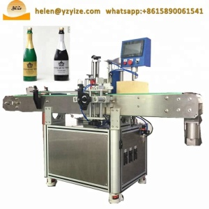 Highly efficient wine bottle labeling machine / blitz sticker labeller