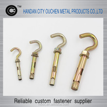 Anchor fastener, factory outlets, quality assurance M6x30 Sleeve Anchor With Hook Bolt
