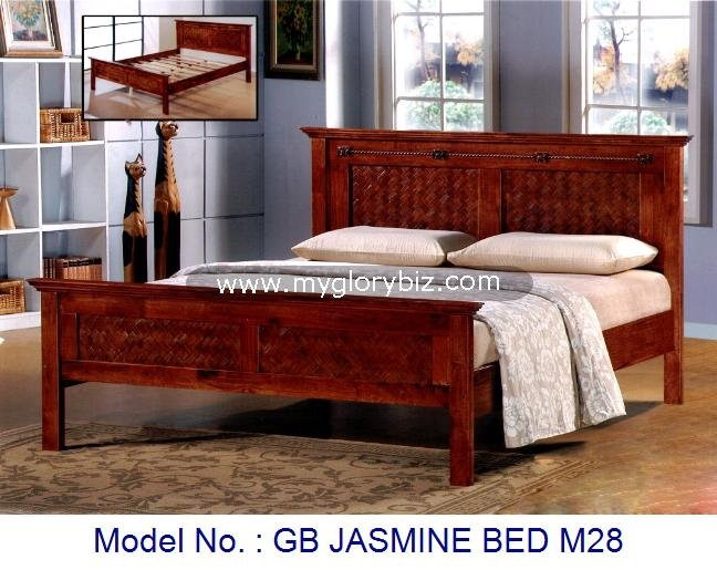 High Quality Antique Style Designs Solid Wood Bed Home Furniture For Bedroom Malaysia