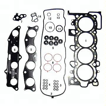 China Daewoo Cylinder Head Gasket China Daewoo Cylinder Head Gasket
