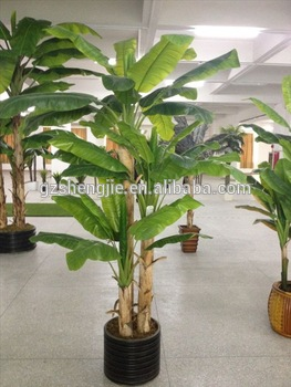 Whole Artificial Bonsai Plants And Tree Banana Trees With A Pot In China