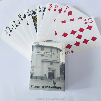 custom design playing card OEM paper playing card