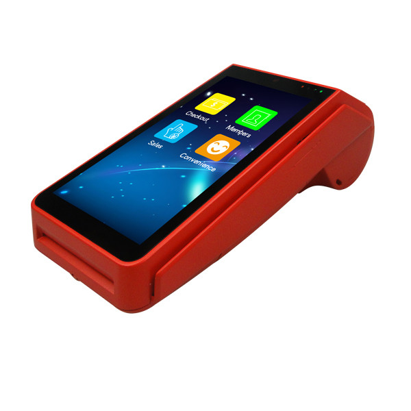 Hot Sale Rugged Android handheld pos devices with printer,mobile pos terminal,handheld 4G Smart Phone