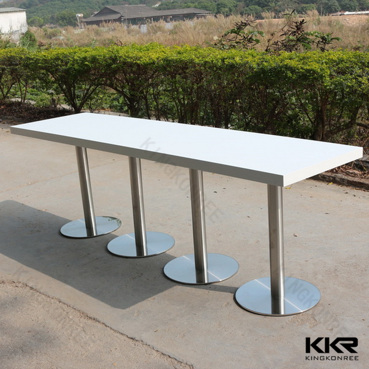 Engineered Quartz Marble Top Marble Stone Composite Dining Table