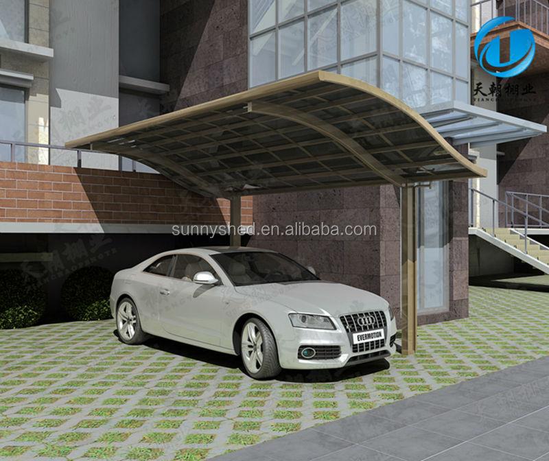 Fai da te free standing stucture alluminio posto auto for Kit per posto auto coperto