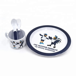 BPA free A5 melamine dinnerware dinner set for children kids