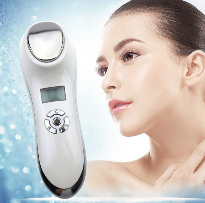 2018 newest beauty instrument 6 in 1 RF EMS multifunction facial machine