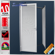 Superhouse security door grill designs with milky stainless steel mesh screen for security