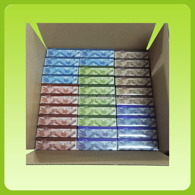 Custom printed High Quality Soft water absorbing soft pack facial tissue