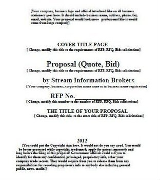 best universaltempletes for proposal quotes bids buy proposal