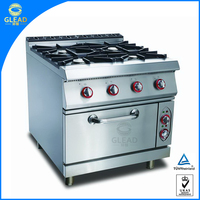 Commercial Equipment 6 burner gas range/gas burner prices/gas cooker china
