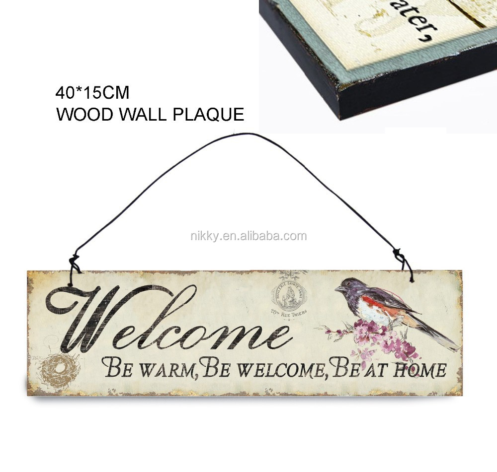 Decorative Wall Plaque,Shabby Chic Home Accessories,Wooden Signs   Buy  Wooden Signs,Shabby Chic Home Accessories,Decorative Wall Plaque Product On  Alibaba. ...