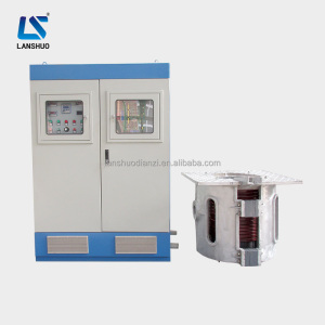 300kg KGPS aluminium induction melting furnace