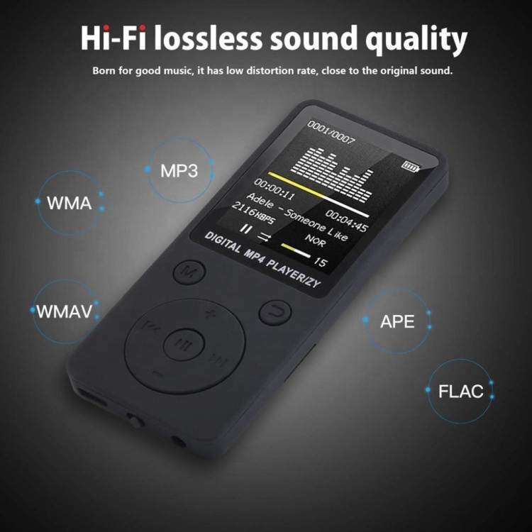 2019 Newest MP4 MP3 Player,FM Radio, Sport Speaker,Walkman Music Device, Wholesale Dropship