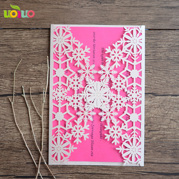 New Design Individual Century Customized Moq 100pcs Paper Wedding