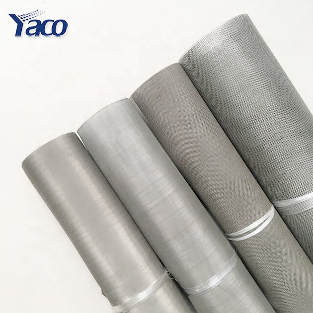 100mesh 0.1mm 304 stainless steel woven wire <strong>mesh</strong> for filter price per meter list Anping