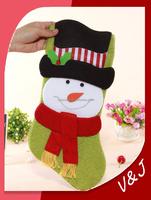 Santa Claus Christmas Stocking Sock Gift Bag Tree Decorating