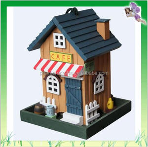 Hot Selling Wholesale Cafe Style Decorative Bird Feeder