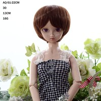 Trade Assurance Good Quality Glueless Wholesale Cheap Synthetic Doll Wig