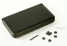 NEW original OEM black color for 3DS XL FULL REPLACEMENT CASE HOUSING SHELL black color for 3DS XL