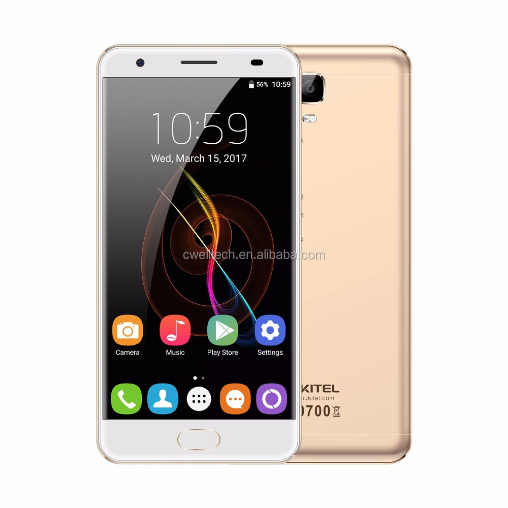 "2018 NEW in stock Oukitel 4GB 64GB MTK6750T Octa Core 5.5"" FHD 6080mAh FingerprintAndroid 7.0 oukitel k6000 plus"