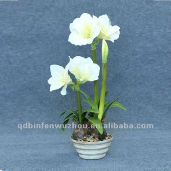 Cheap potted artificial flowers belladonna lilyartificial flower cheap potted artificial flowers belladonna lilyartificial flower for amaryllis mightylinksfo