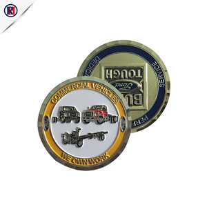 Manufacturer wholesale custom design product American company logo souvenir metal silver coin