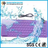 Best waterproof silicone PC keyboard