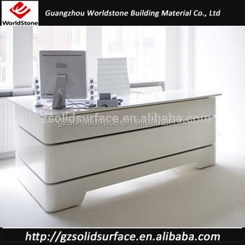 Luxury Modern Office Reception Counter Design For Commerical