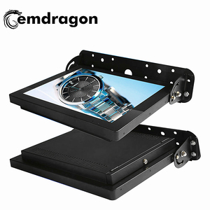 Gemdragon lcd tv screen 17 inch Full HD 1080P Bus video player advertising display screen tools quality car lcd digital signage