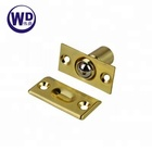 Solid Brass Cabinet Door Ball Catch Bullet Catch