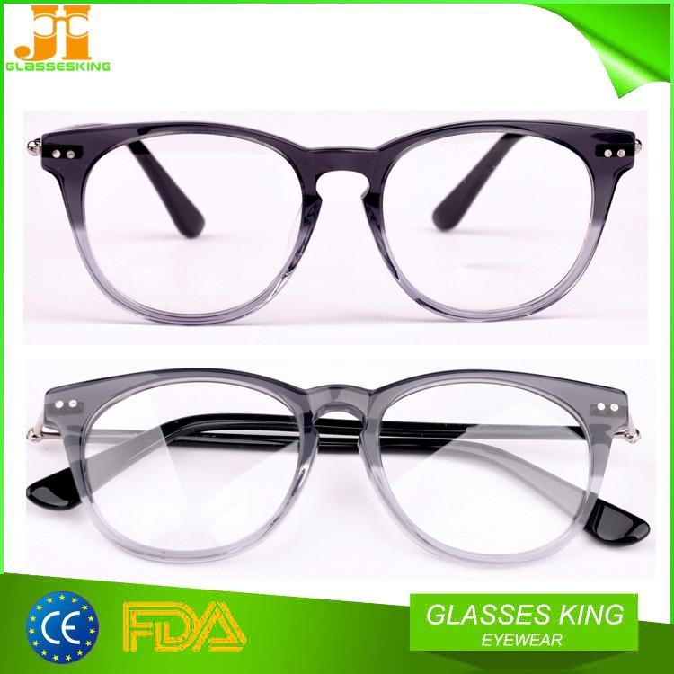 Custom Round Optical Acetate Eyeglasses Frame - Buy Eyewear Frame ...