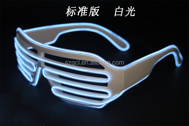 EL Glowing Shutter Glasses Flashing Lighting Party Favors