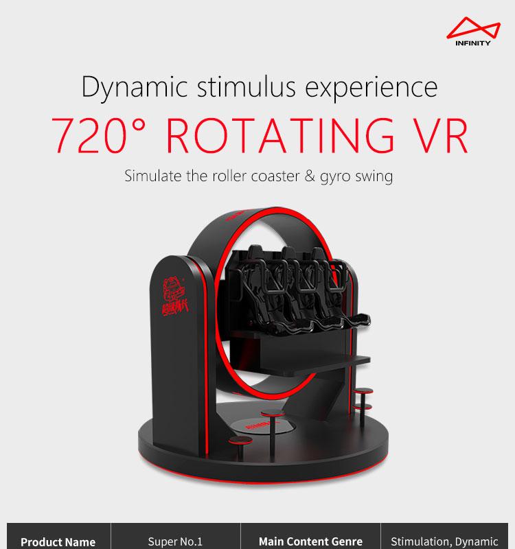 Virtual Reality 9D เก้าอี้ไข่ Cinema VR จำลองขี่สวนสนุกสำหรับสวนสนุก