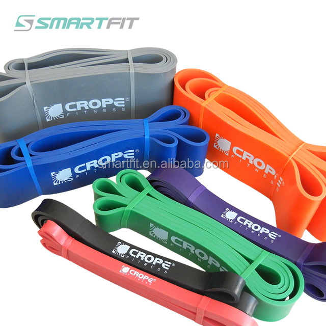 Crossfit latex circulaire stretching band weerstand band