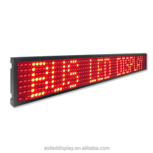 Free samples white diffuce dot P5mm 1388 red chip led display screen for indoor bus station