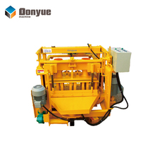 Best selling QT40-3A hollow block making machine manual philippines