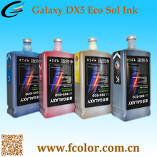 Large Format Outdoor Galaxy DX5 Eco Solvent Ink For Eco Solvent Printer