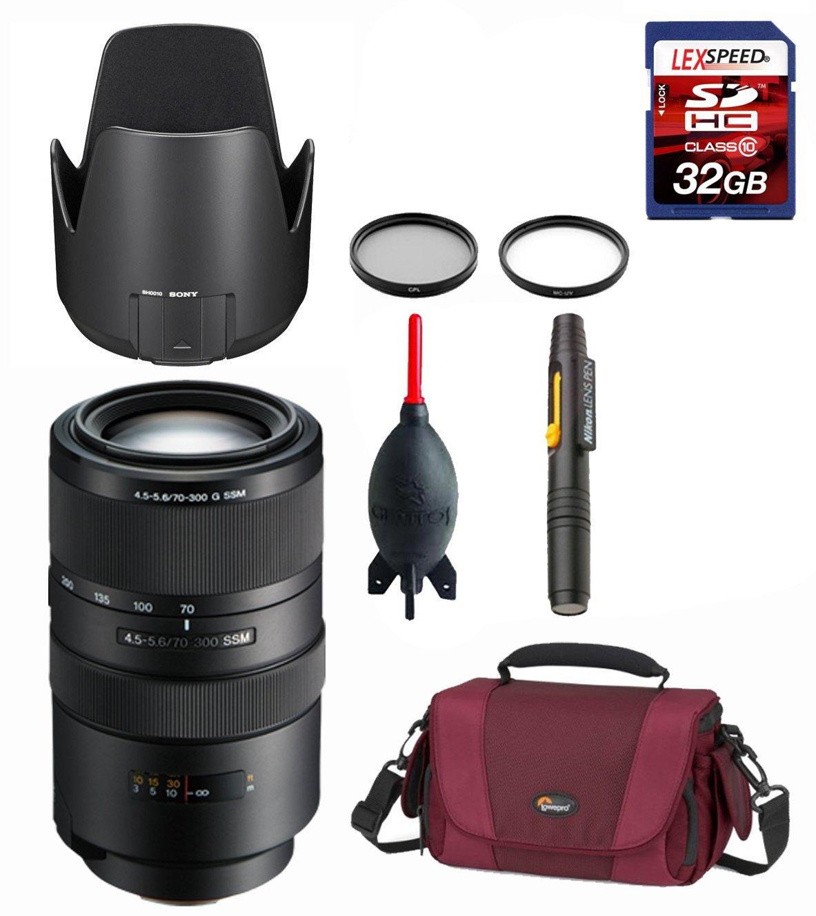 49mm 2x Telephoto Lens for Sony Alpha NEX-5K with Sony 18-55mm f//3.5-5.8 SEL Zoom Lens DavisMAX Fibercloth Deluxe Lens Bundle