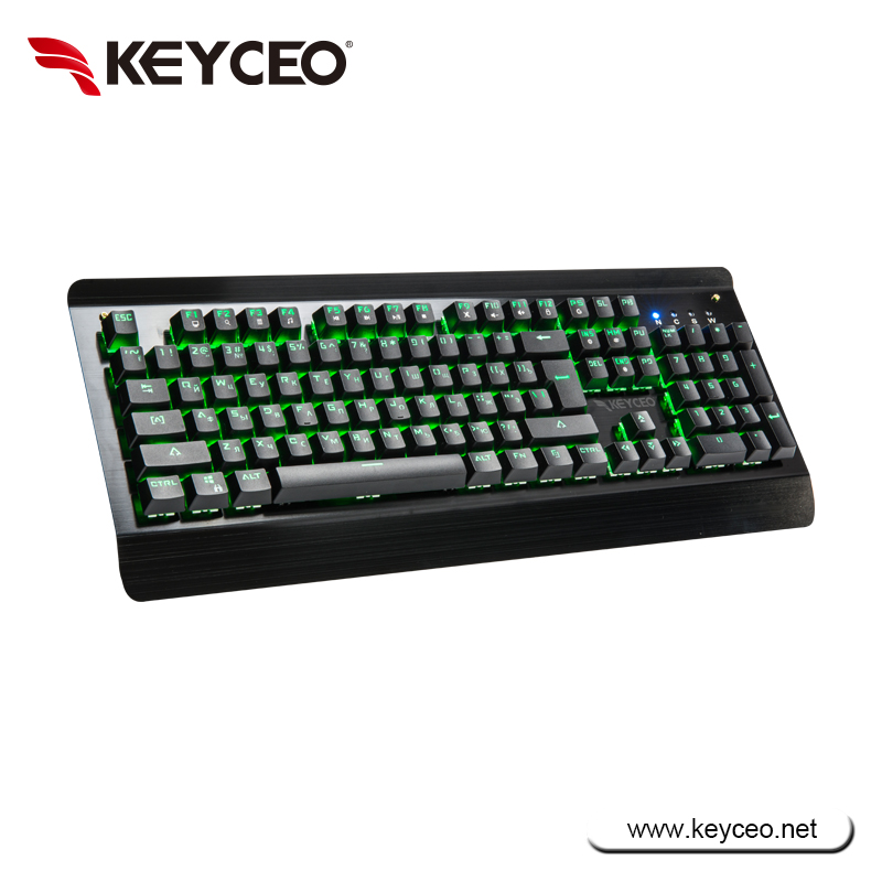 Portable 104keys USB wired Mechanical Keyboard for gaming
