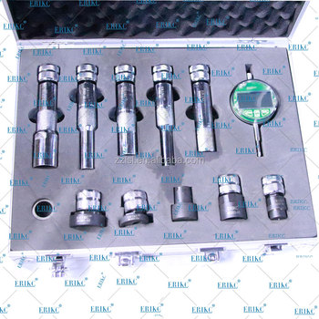 ERIKC Fuel Injector Lift Measurement Tool CR Injector Multifunction Test Kit And Injector Lift Measurement Tool