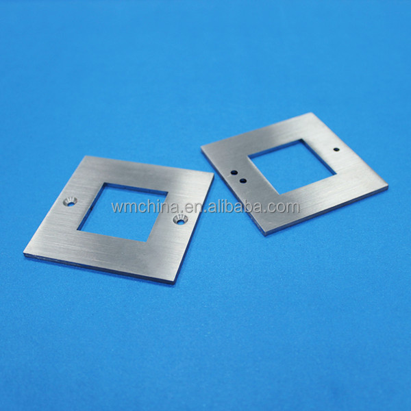 Donnguan metal cutting work, weimi custom high quality central machinery cnc parts