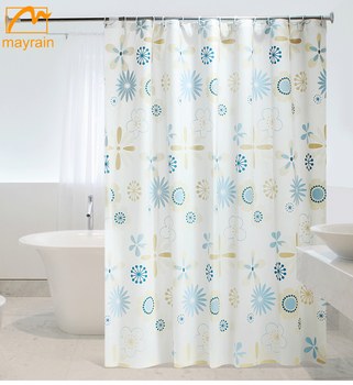 2018 Cheap china supplier london picture shower curtains