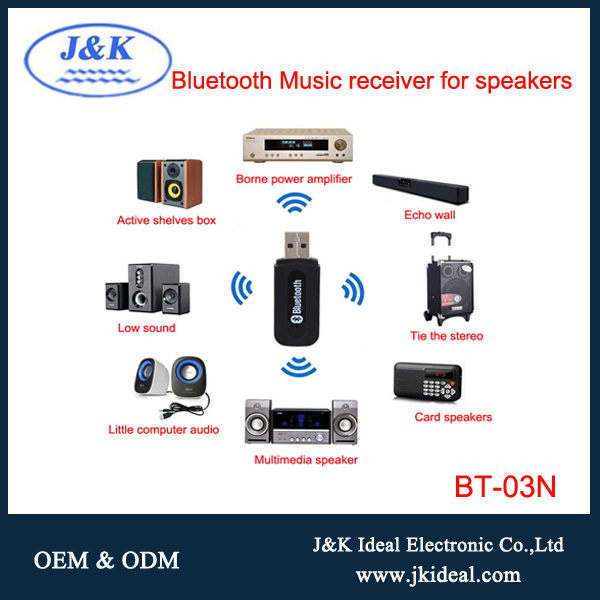 BT-03N Aux ( line in ) bluetooth car kit usb audio reciver adapter